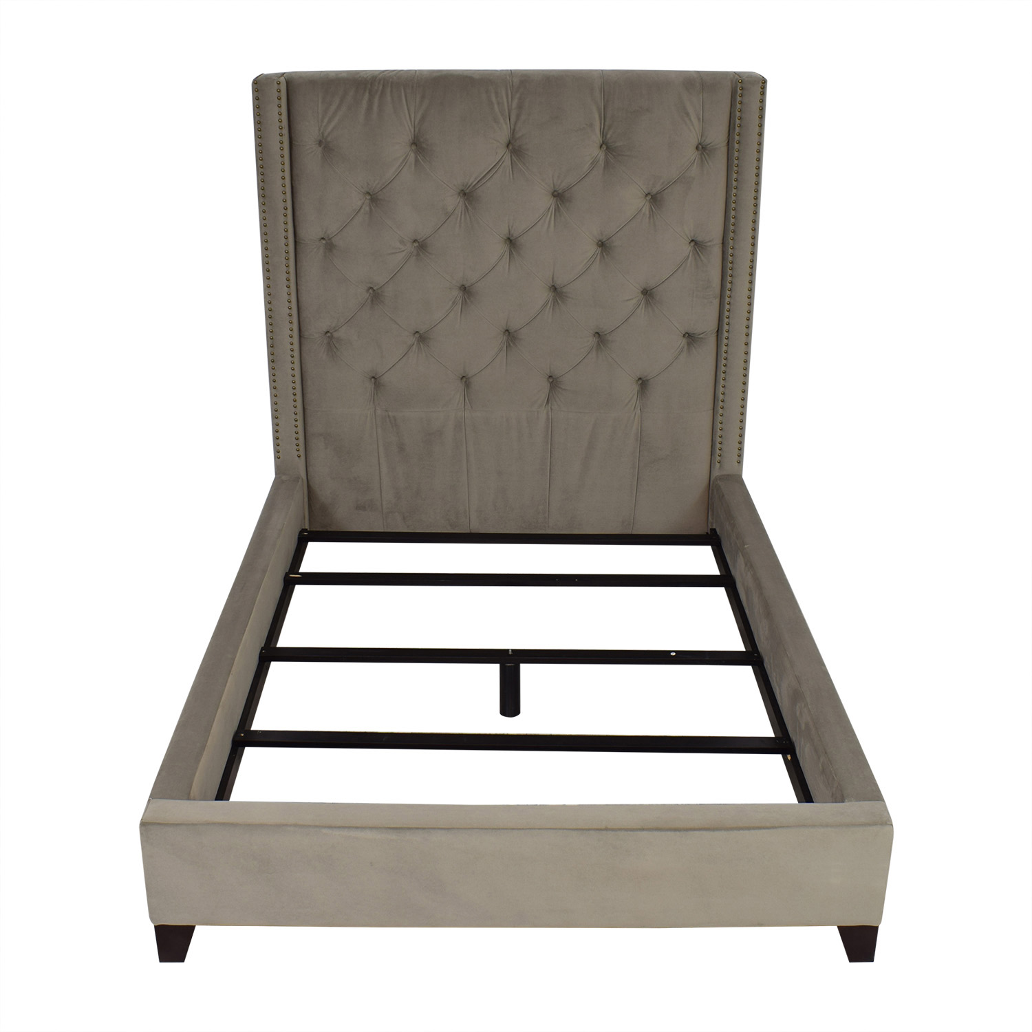 buy Pottery Barn Harper Upholstered Tufted Tall Bed Pottery Barn Beds