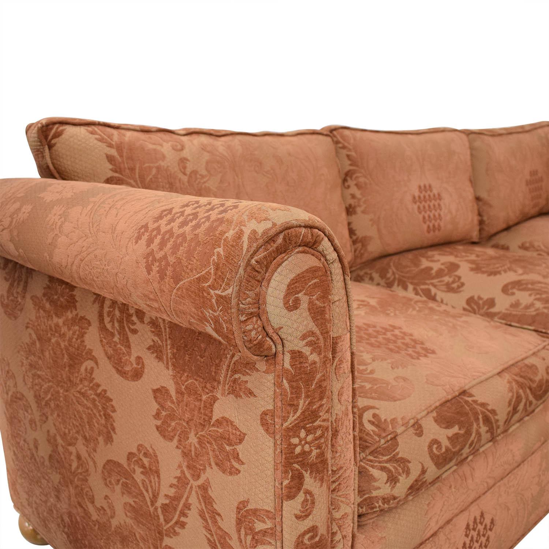 Custom Brocade Sectional Sofa dimensions