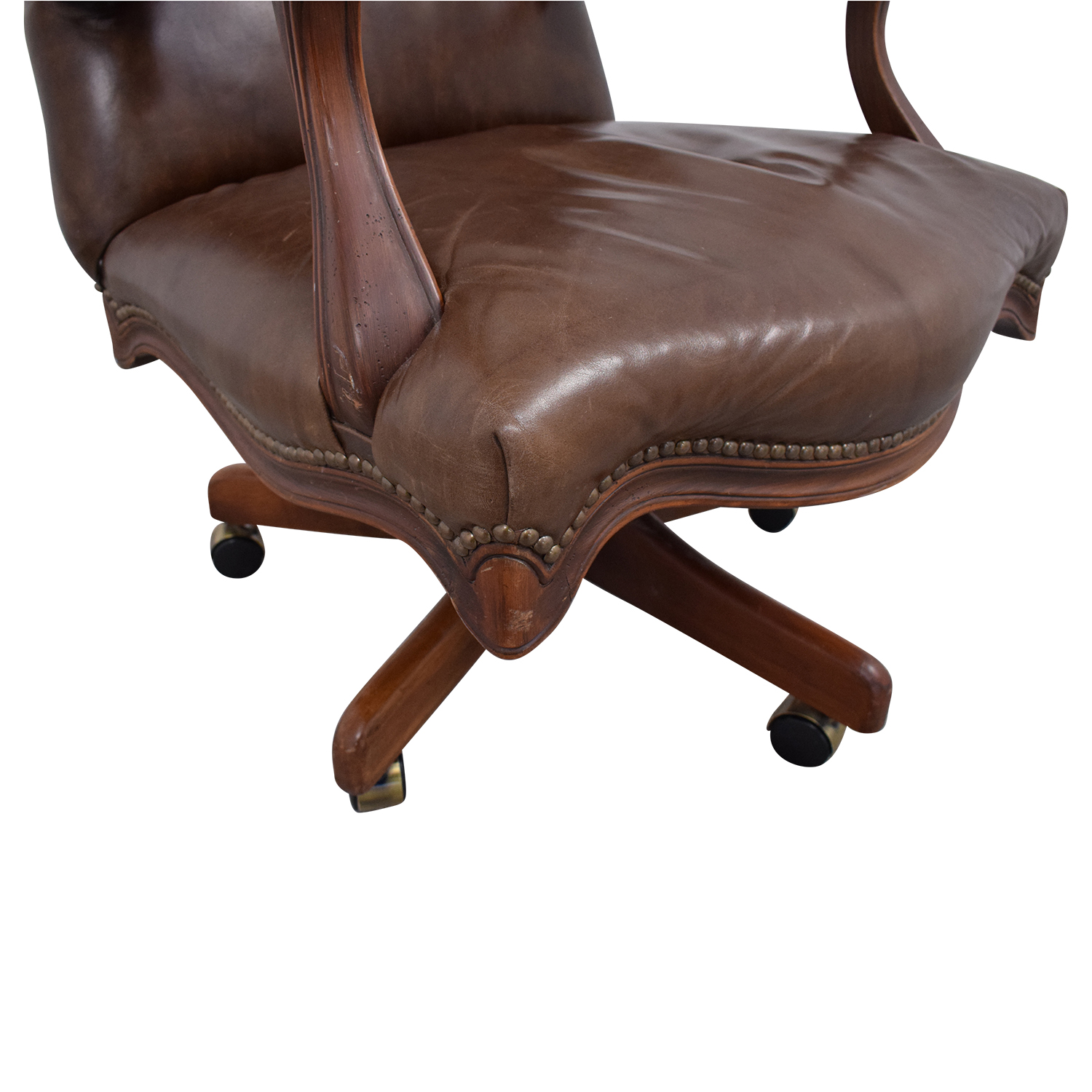 shop Vintage Desk Swivel Chair  Home Office Chairs