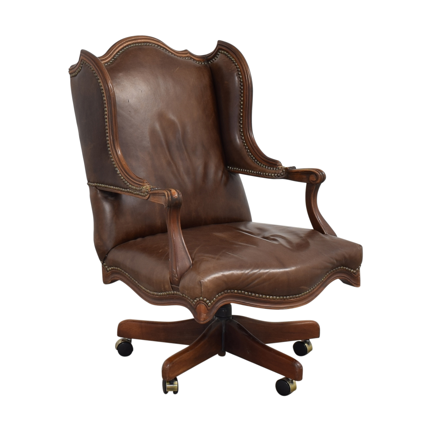 Vintage Desk Swivel Chair Chairs