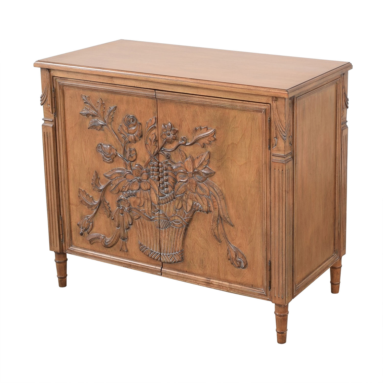 buy Invincible Fine Furniture Hand Carved Cabinet Invincible