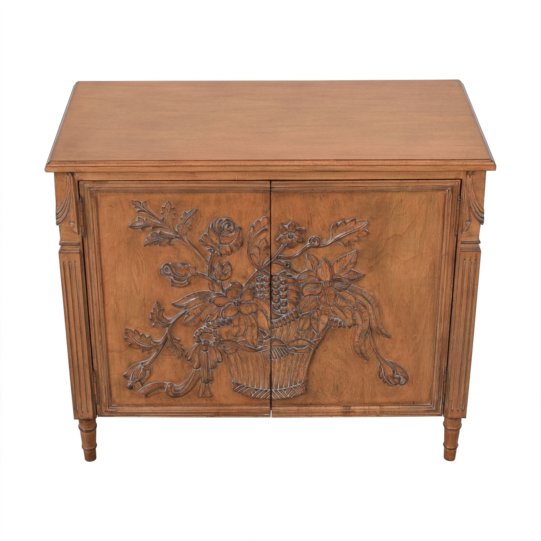 shop Invincible Fine Furniture Hand Carved Cabinet Invincible Storage