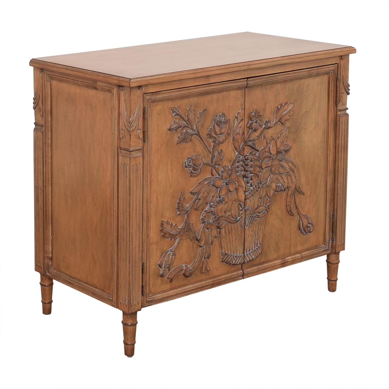 Invincible Invincible Fine Furniture Hand Carved Cabinet