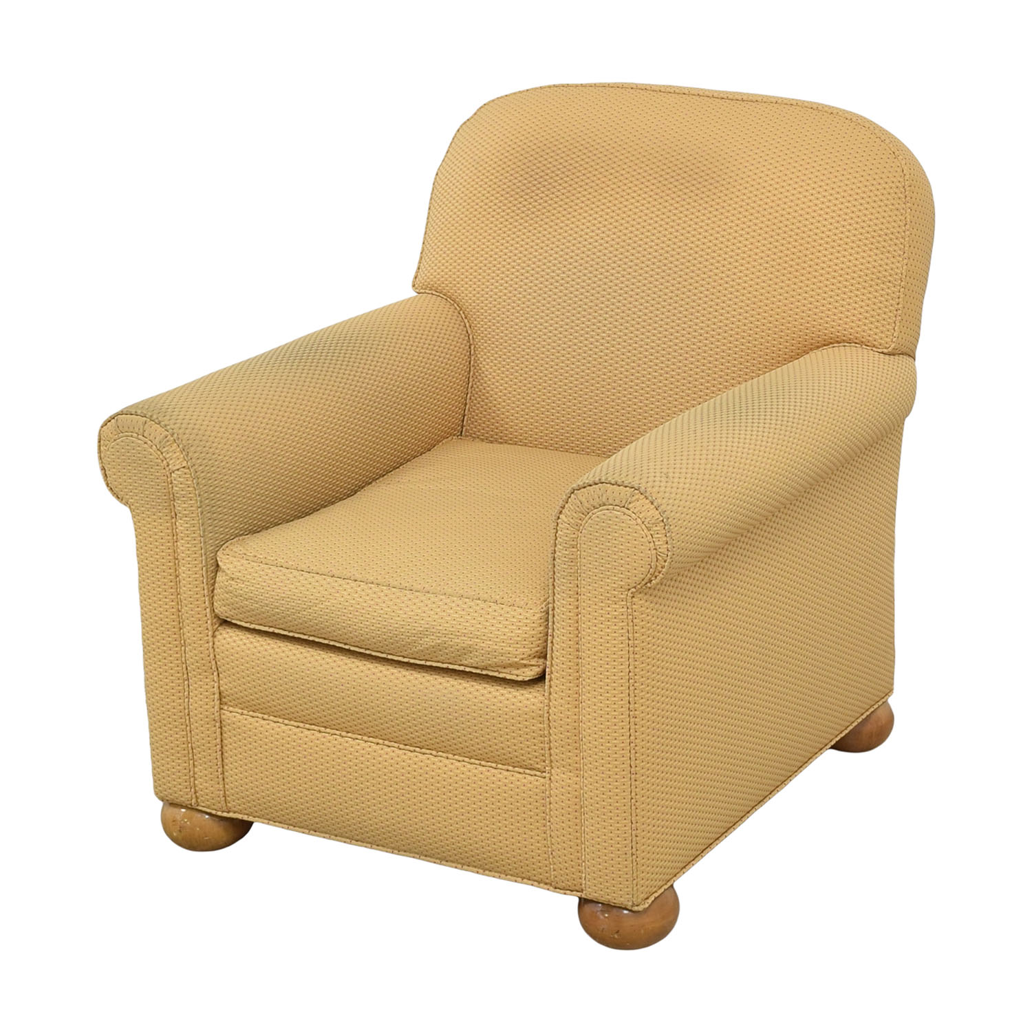 buy Round Arm Accent Chair  Chairs