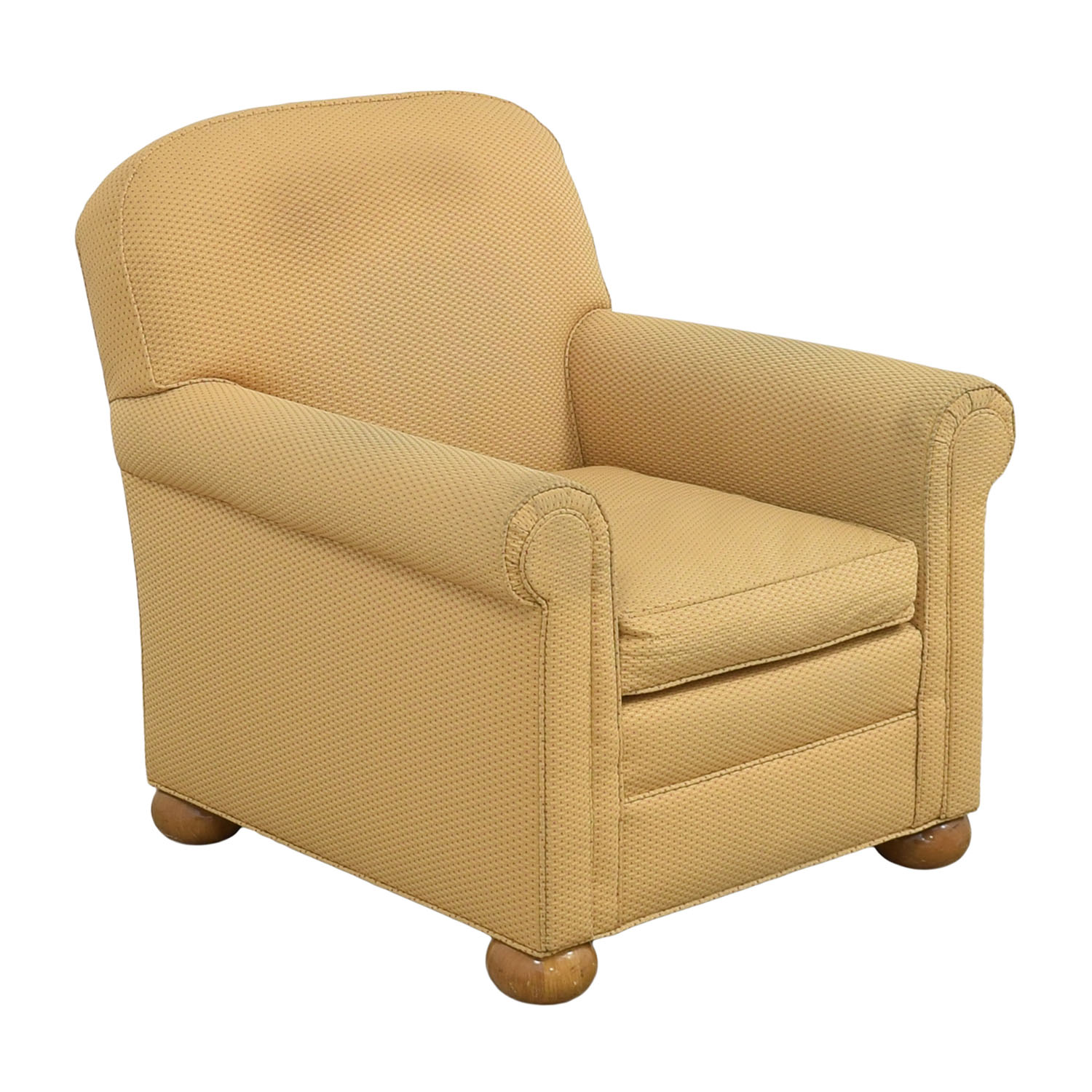 shop Round Arm Accent Chair  Chairs