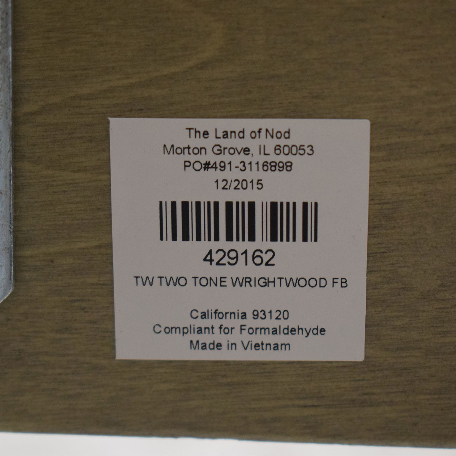 buy Land of Nod Wrightwood Twin Bed Land of Nod Bed Frames