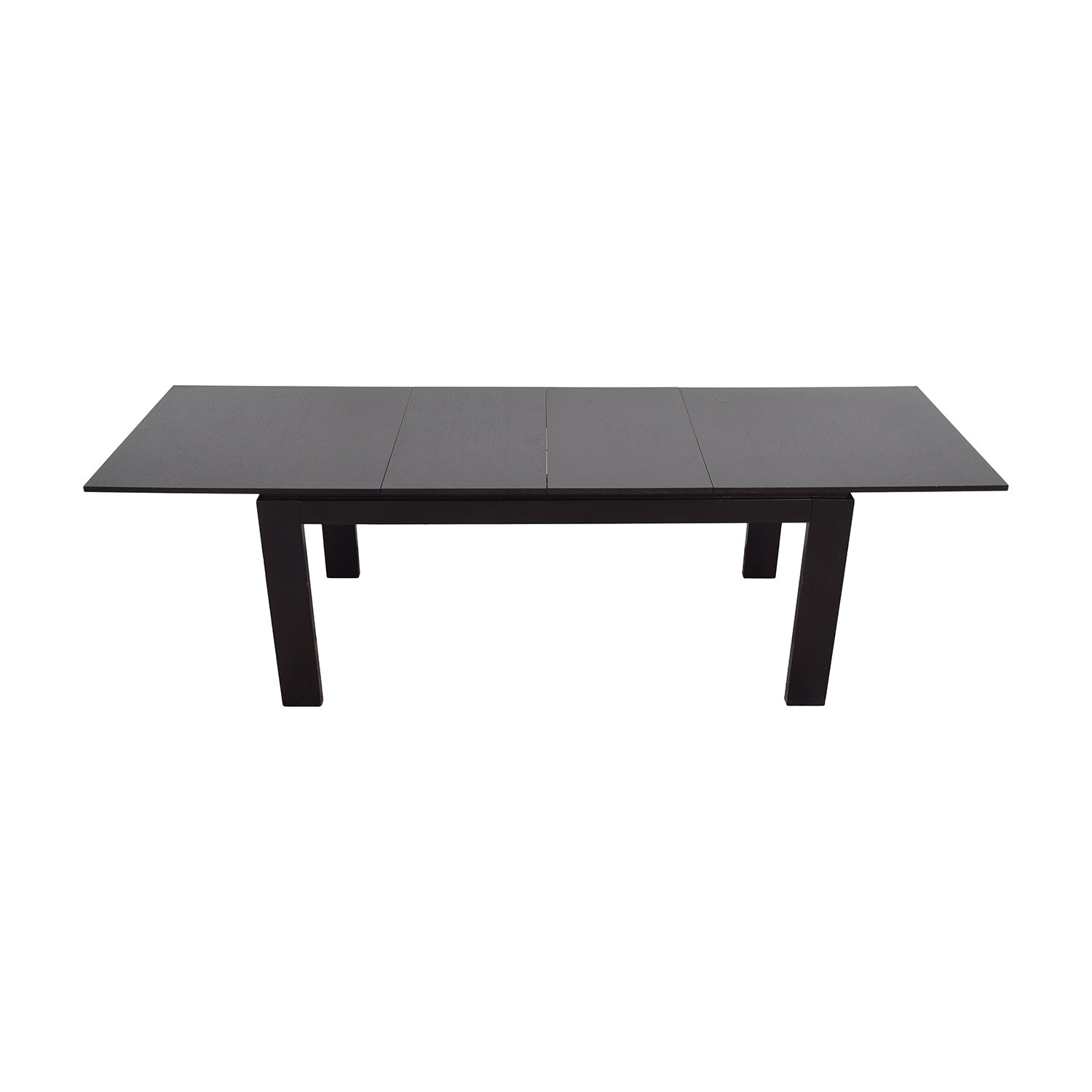 CB2 CB2 Wenge Expandable Dining Table ct