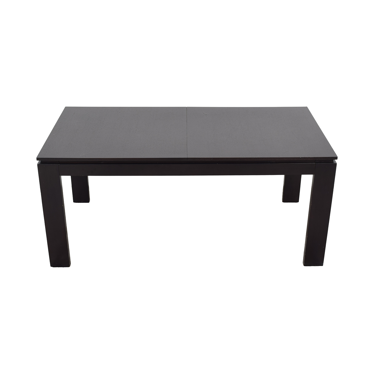 buy CB2 Wenge Expandable Dining Table CB2