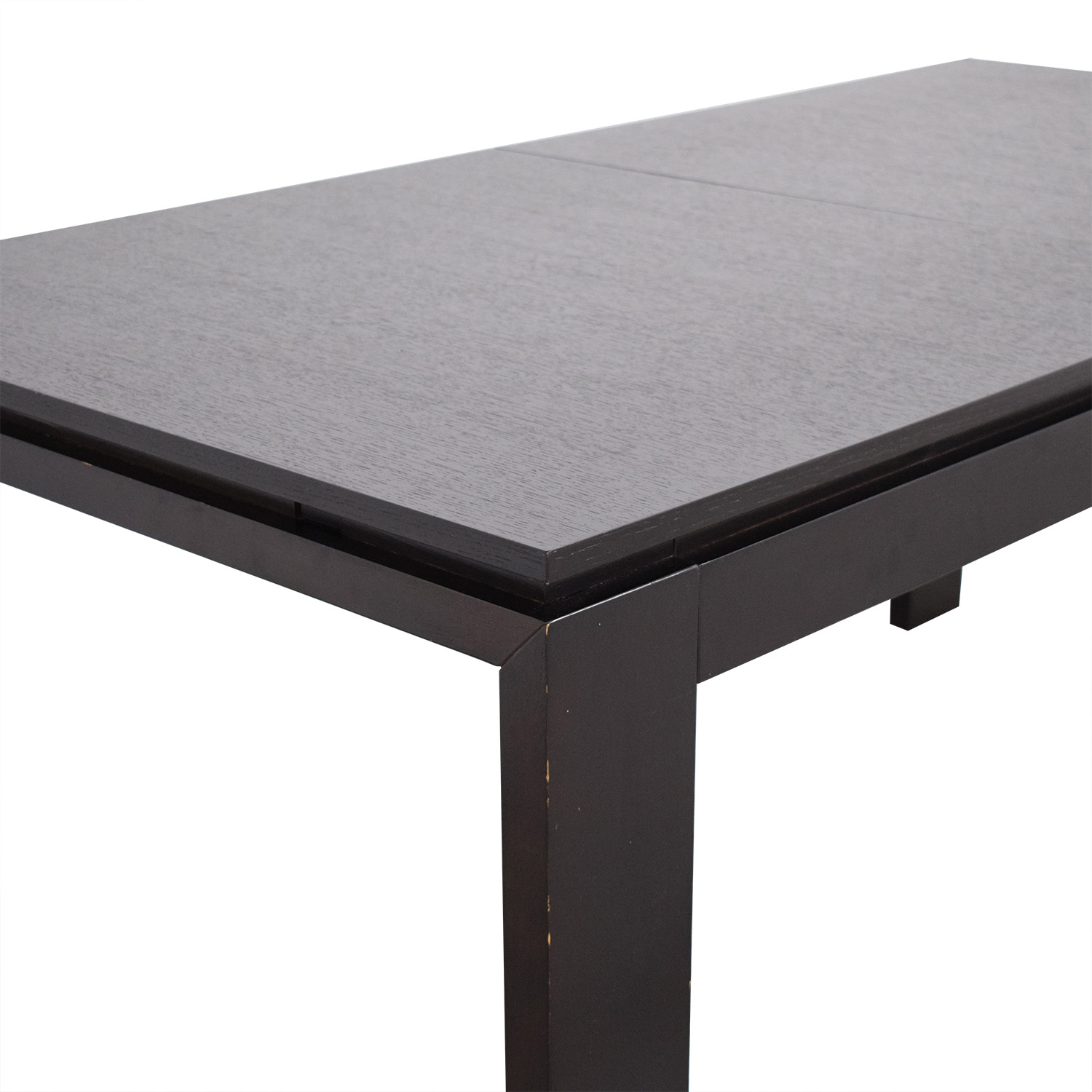 CB2 Wenge Expandable Dining Table / Dinner Tables