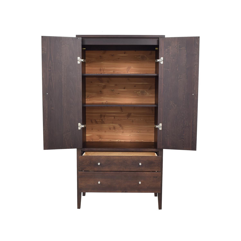 buy Room & Board Calvin Modern Armoire Room & Board