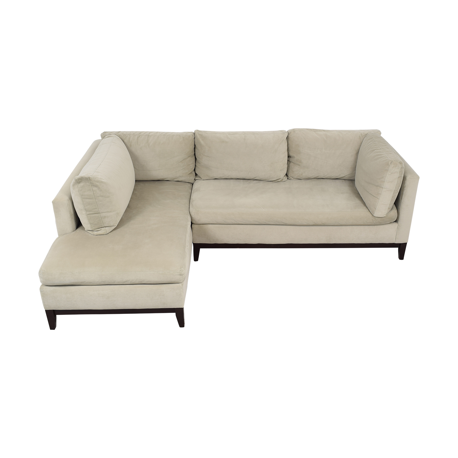 West Elm West Elm Sectional Sofa with Chaise ct
