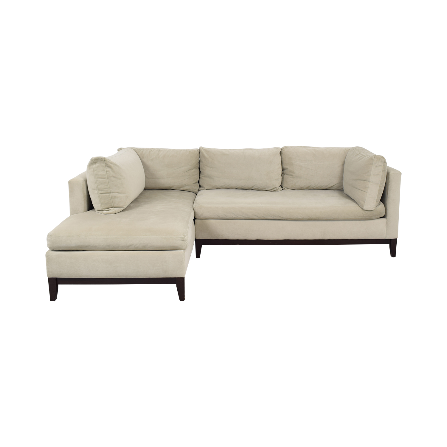 shop West Elm Sectional Sofa with Chaise West Elm Sofas