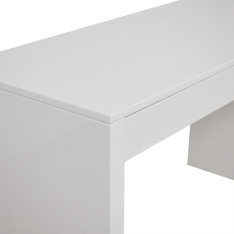 CB2 CB2 Runway Desk white