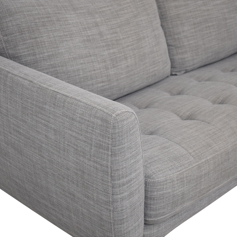 shop Macy's Single Cushion Sofa Macy's