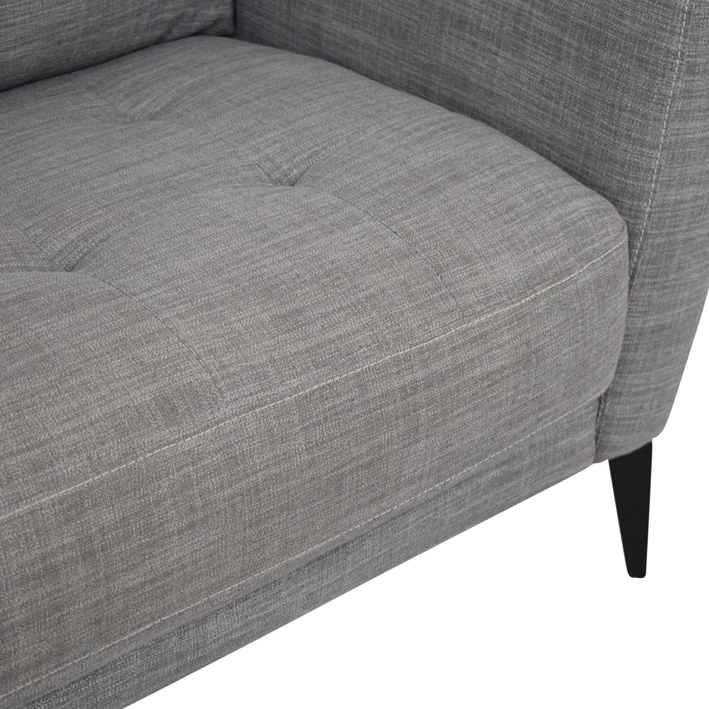 Macy's Macy's Single Cushion Sofa ct