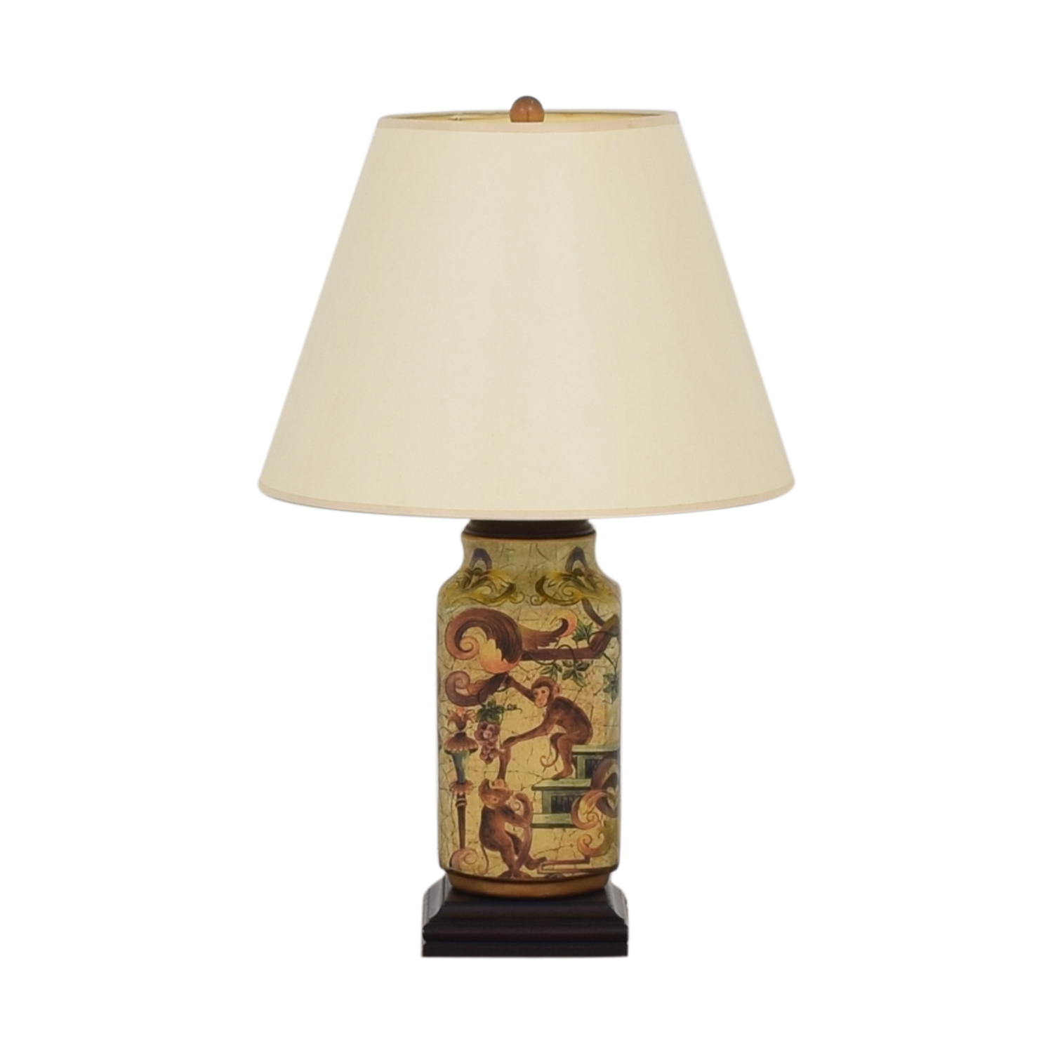 Vintage Decorative Table Lamp second hand