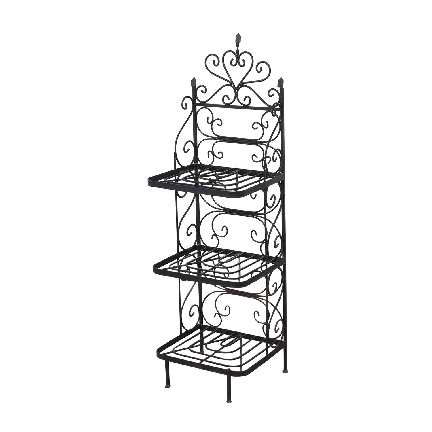 shop Vintage Bakers Rack  Bookcases & Shelving