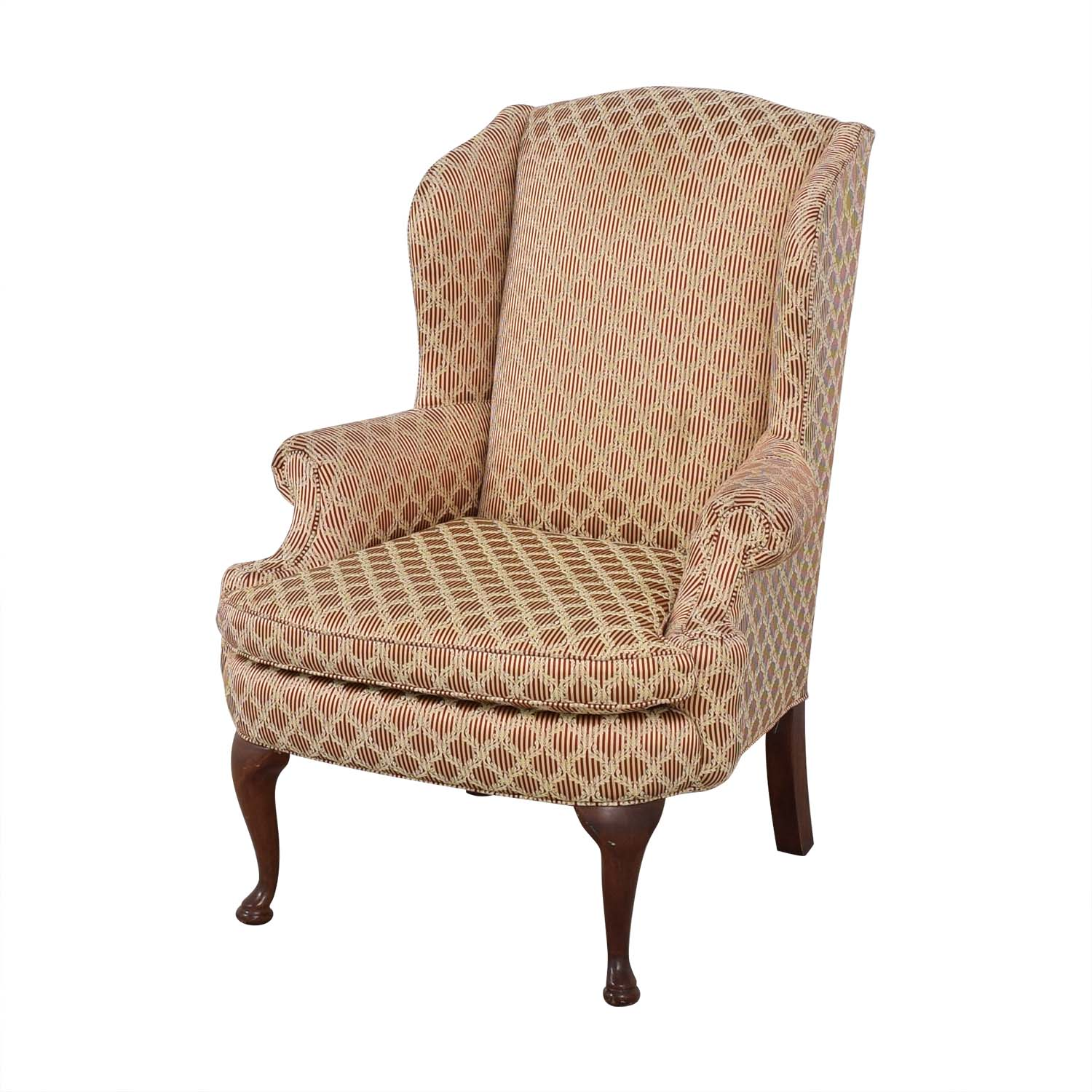 buy Plunkett Furniture Plunkett Upholstered Wingback Chair online