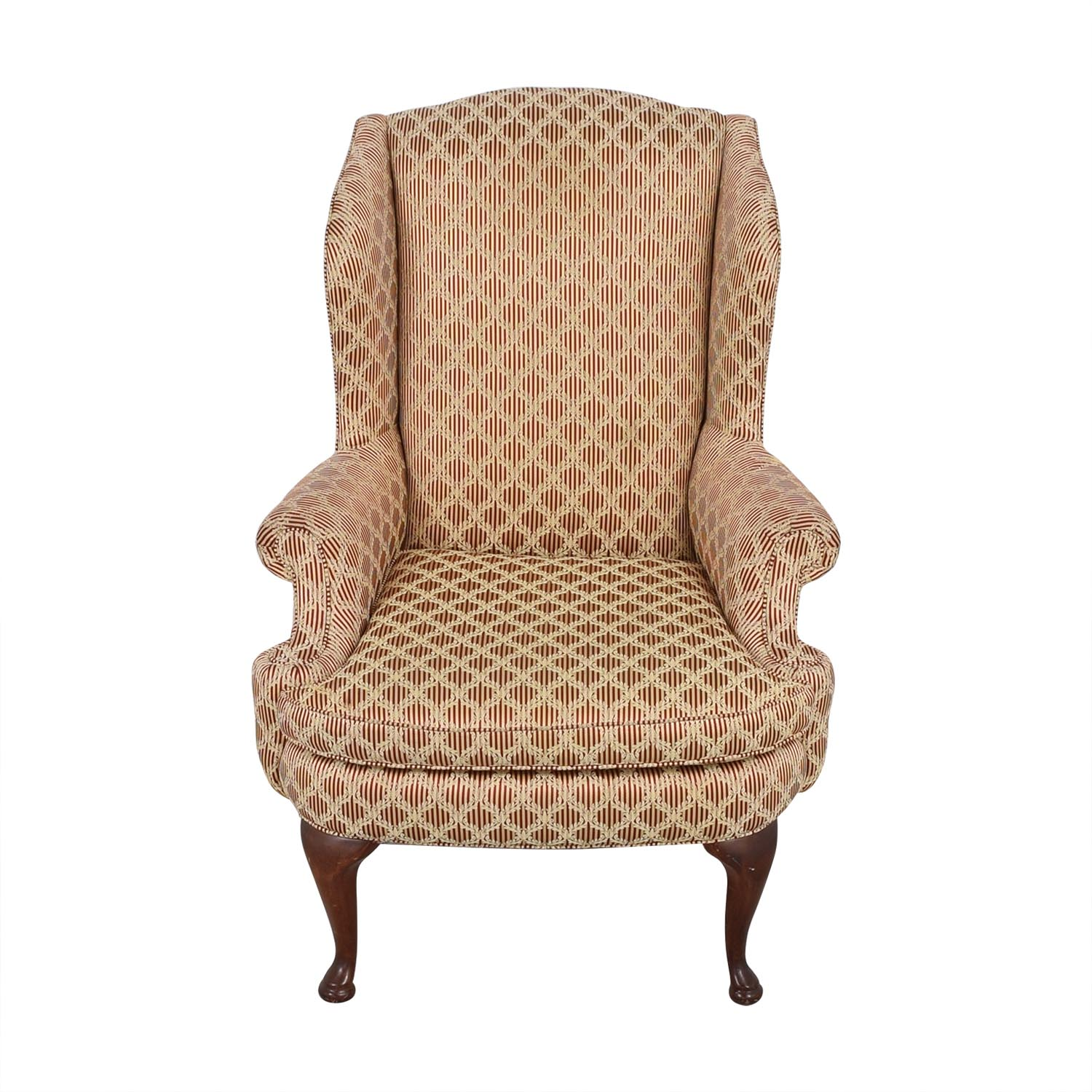 Plunkett Furniture Plunkett Upholstered Wingback Chair coupon