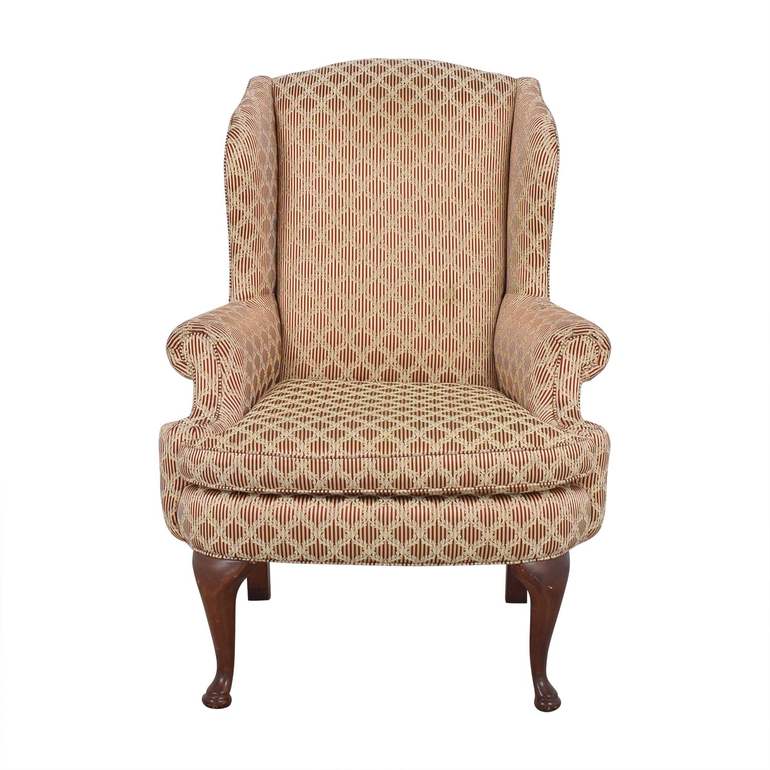 Plunkett Furniture Plunkett Upholstered Wingback Chair discount