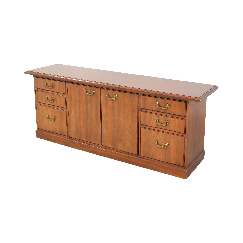 shop Kimball Mid Century Executive Credenza Kimball Cabinets & Sideboards