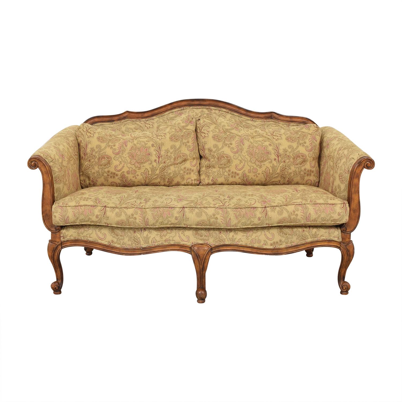 shop Ethan Allen Evette Settee Ethan Allen Classic Sofas
