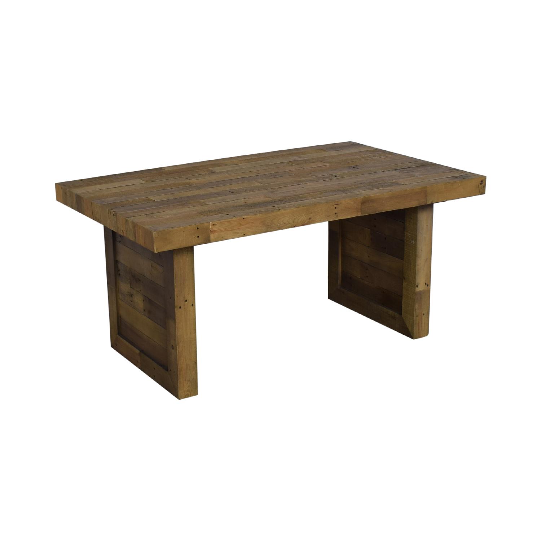 Mistana Mistana Abbey Extendable Solid Wood Dining Table brown