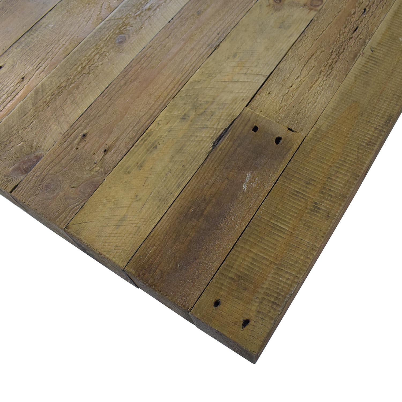 Mistana Mistana Abbey Extendable Solid Wood Dining Table second hand