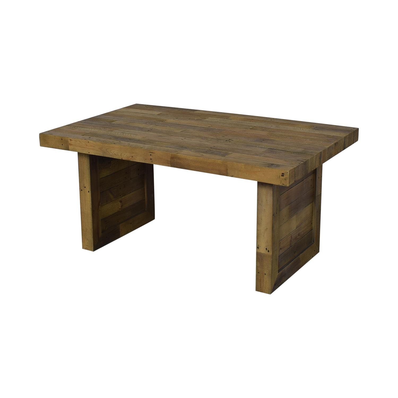 buy Mistana Abbey Extendable Solid Wood Dining Table Mistana Utility Tables