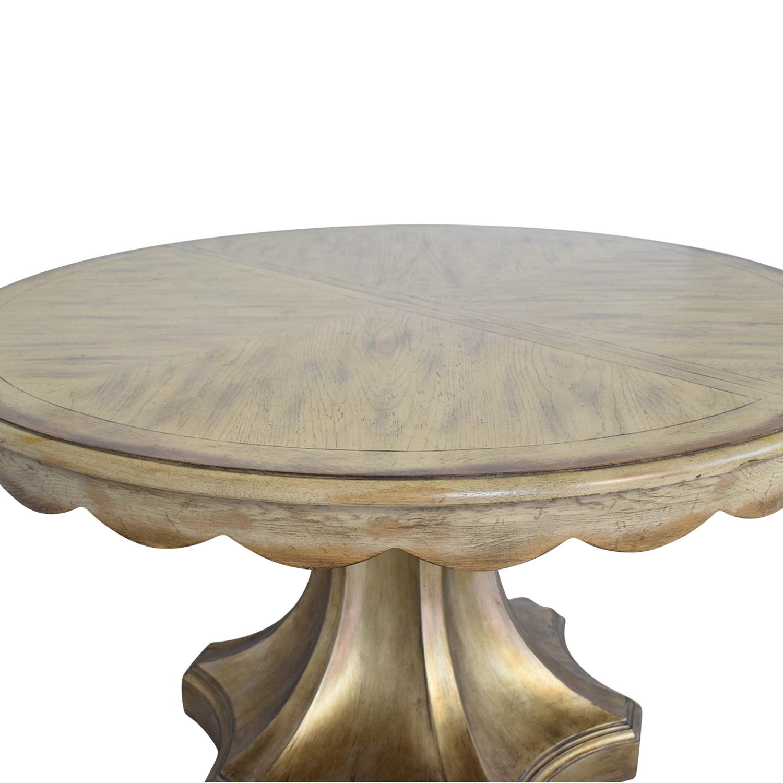 buy Hooker Furniture Pedestal Table Hooker Furniture Tables