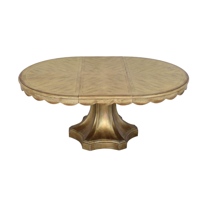 Hooker Furniture Hooker Furniture Pedestal Table second hand