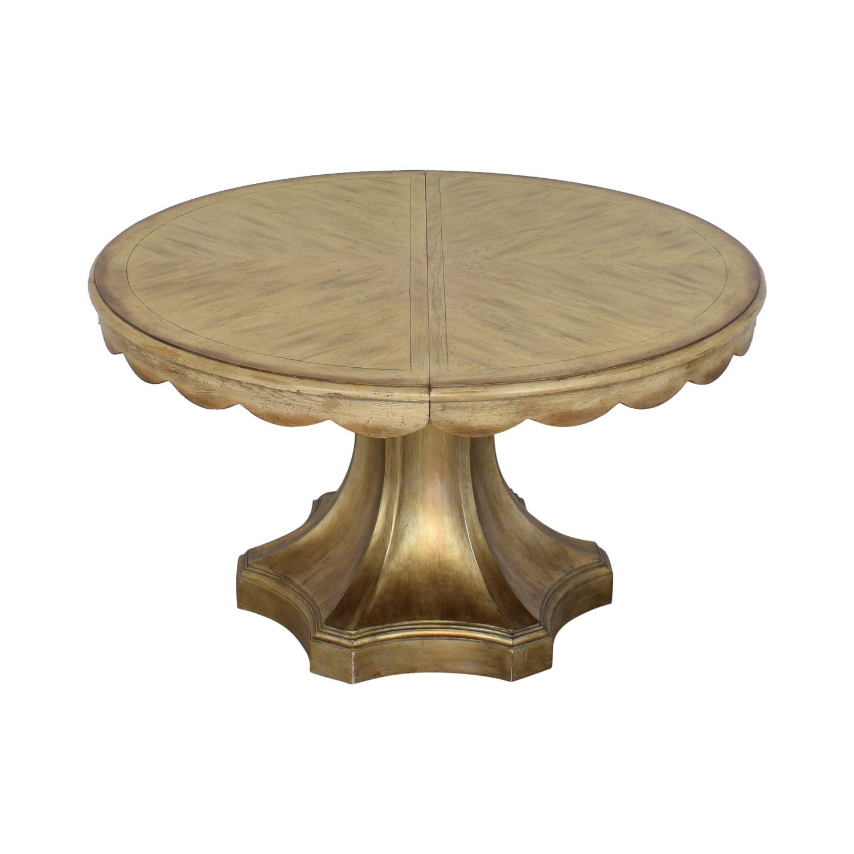 Hooker Furniture Hooker Furniture Pedestal Table ma