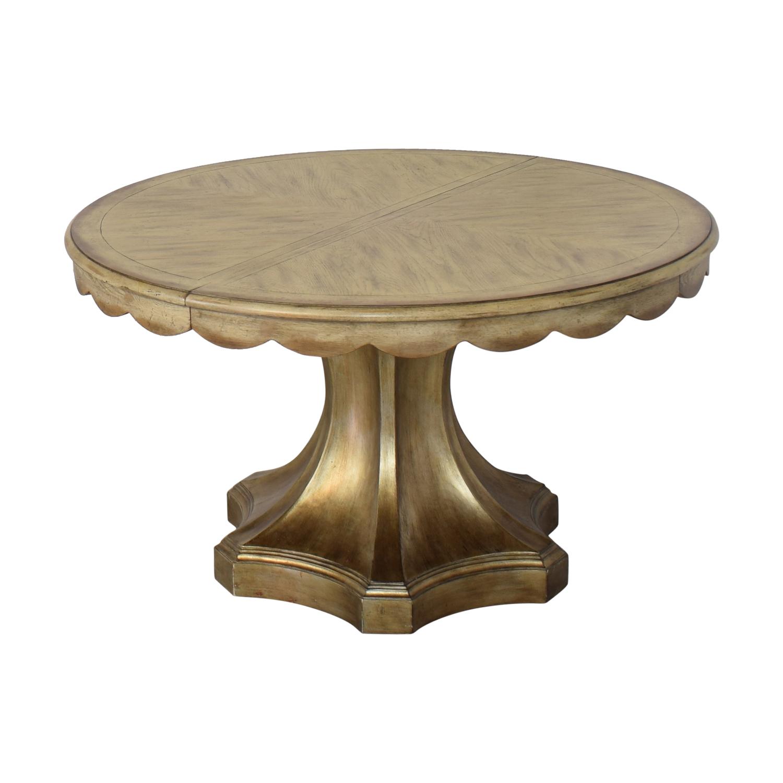 shop Hooker Furniture Pedestal Table Hooker Furniture Dinner Tables