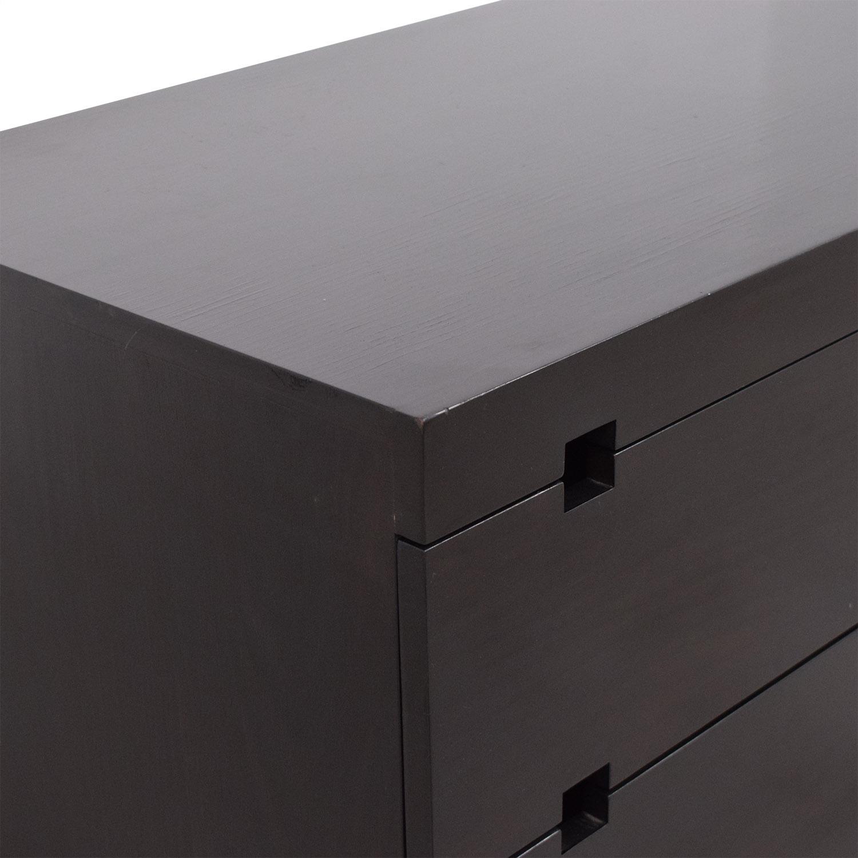 buy West Elm West Elm Square Cutout Six Drawer Dresser online