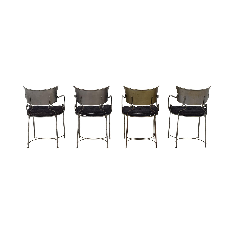 buy Bloomingdale's Bloomingdale's Four Metal Dining Chairs online
