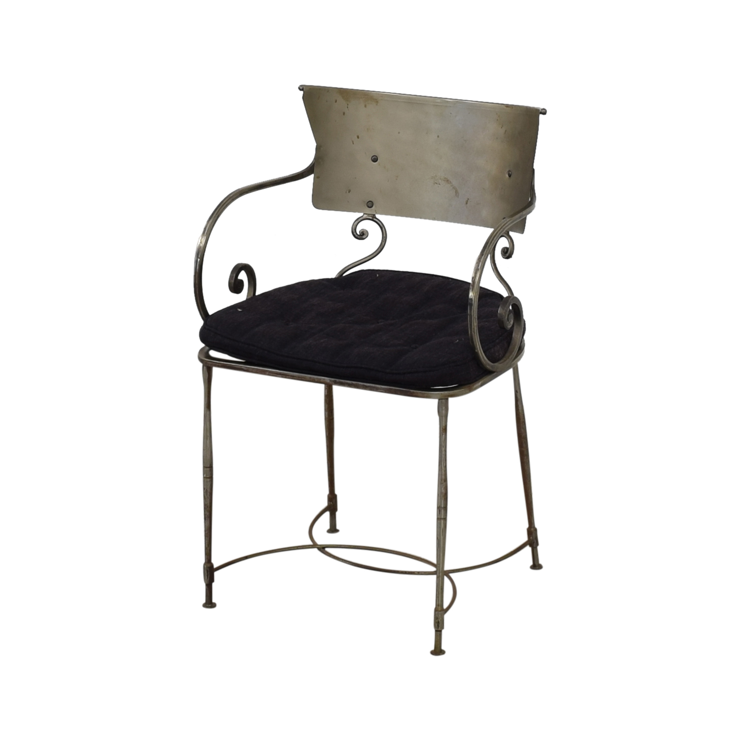 Bloomingdale's Bloomingdale's Four Metal Dining Chairs Dining Chairs