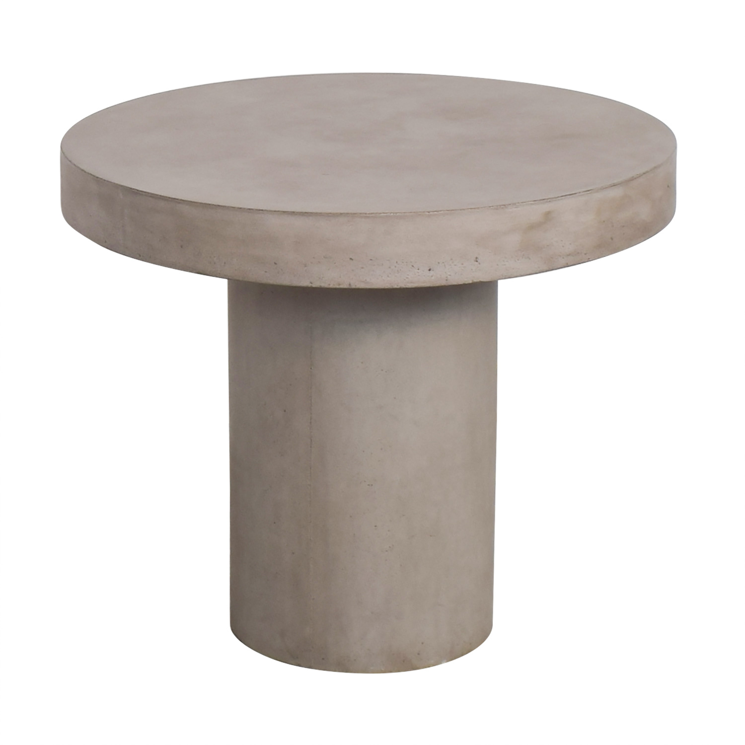 CB2 Fuze Concrete Bistro Table / Dinner Tables