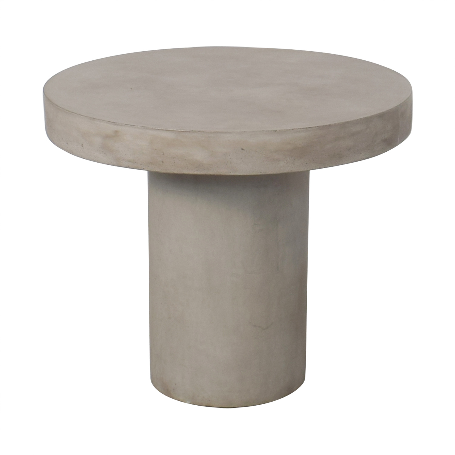 buy CB2 Fuze Concrete Bistro Table CB2 Tables