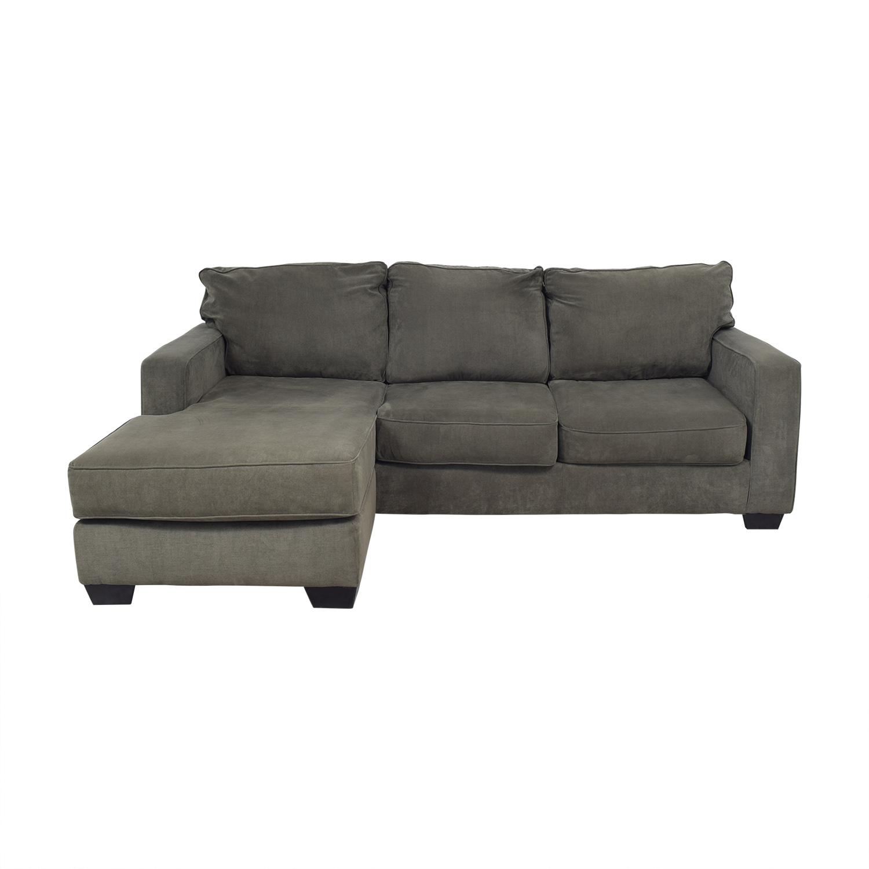 83 Off Ikea Three Cushion Wedge Sectional Sofa Sofas