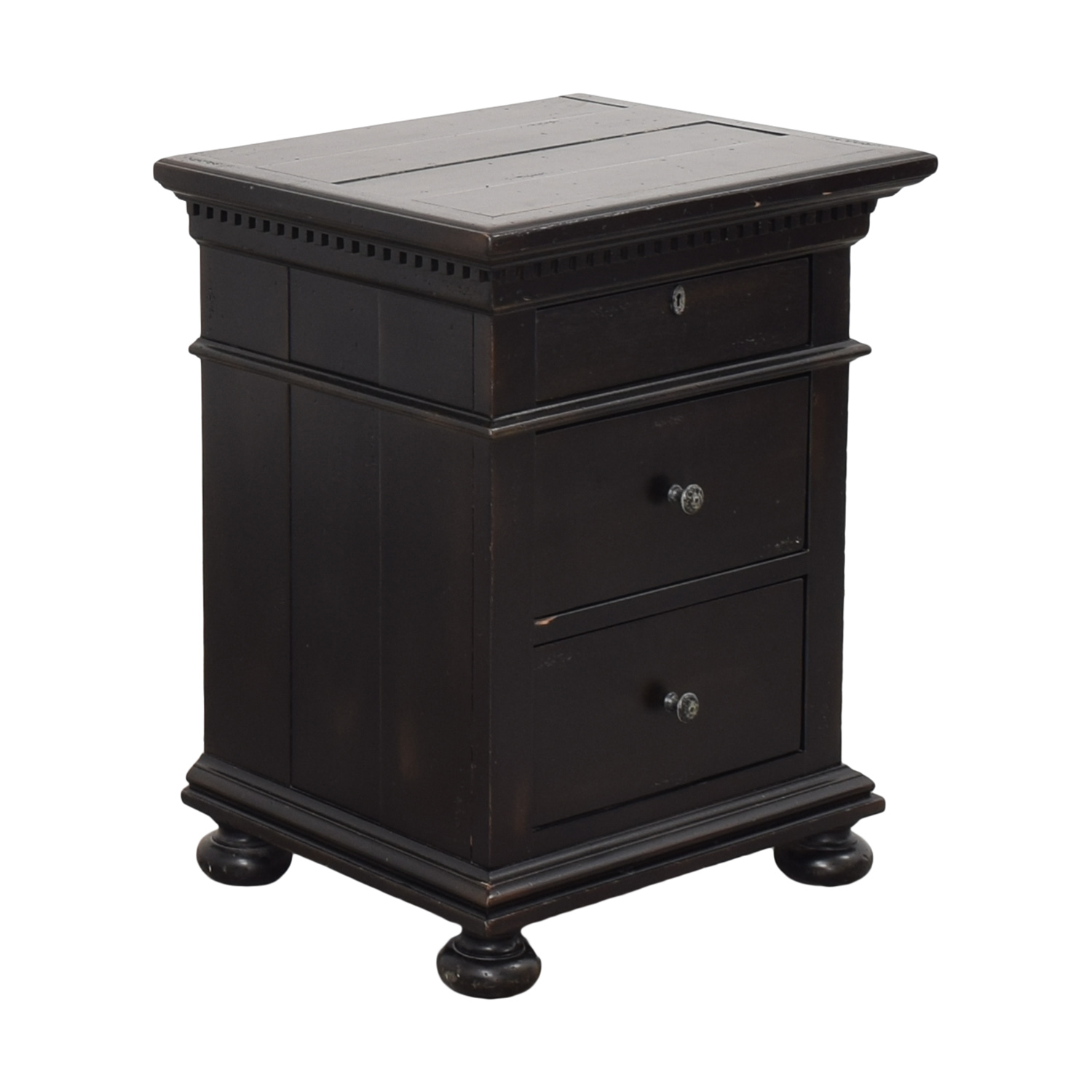 buy Restoration Hardware St. James Closed Nightstand Restoration Hardware End Tables