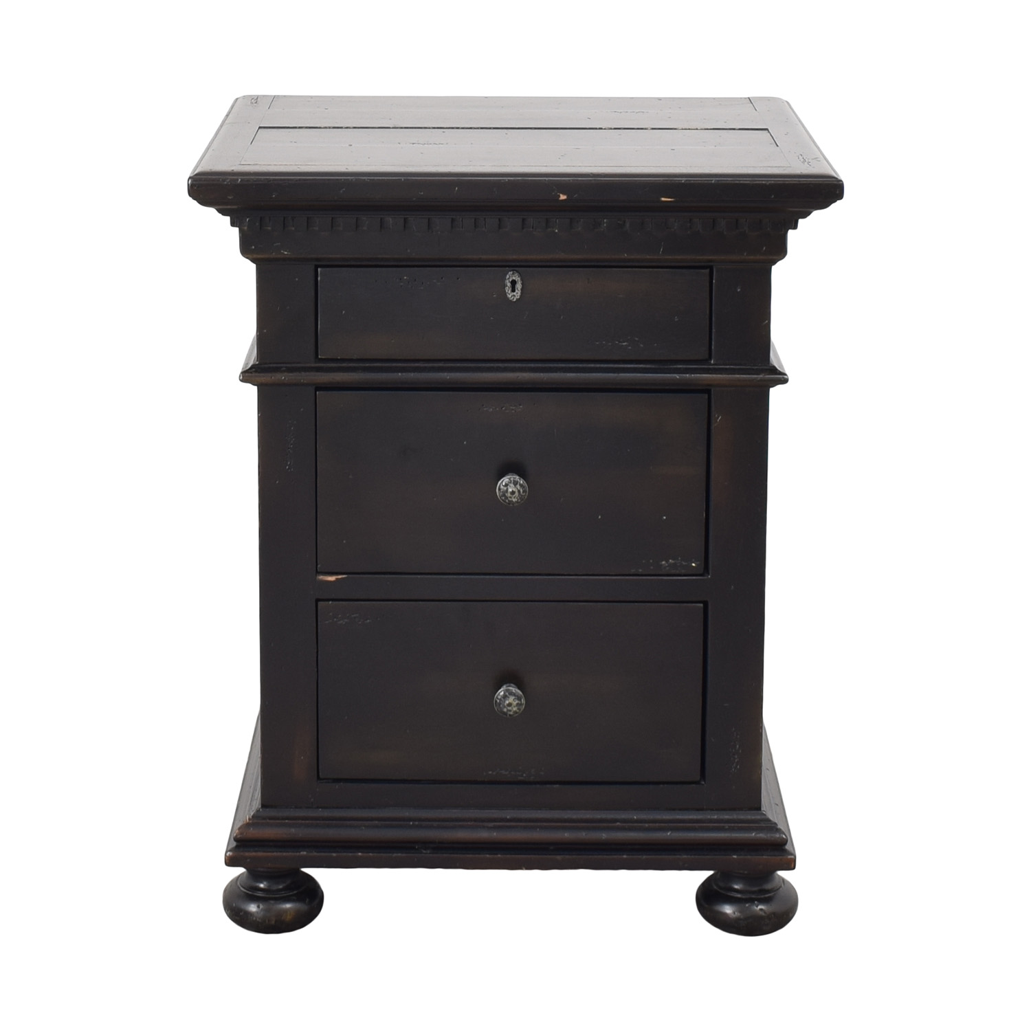 Restoration Hardware St. James Closed Nightstand / Tables