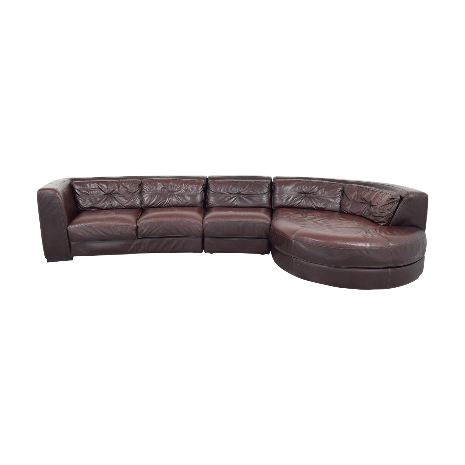 buy Raymour & Flanigan Leather Sectional Raymour & Flanigan Sofas
