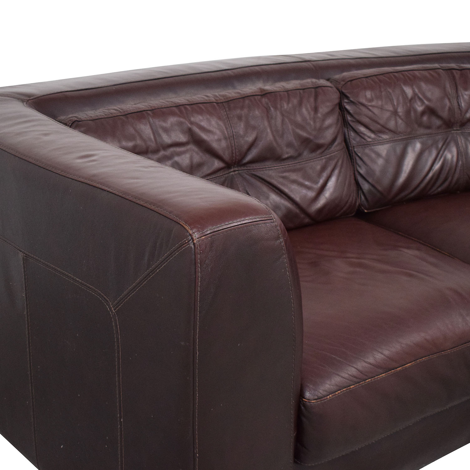 Raymour & Flanigan Raymour & Flanigan Leather Sectional Sectionals