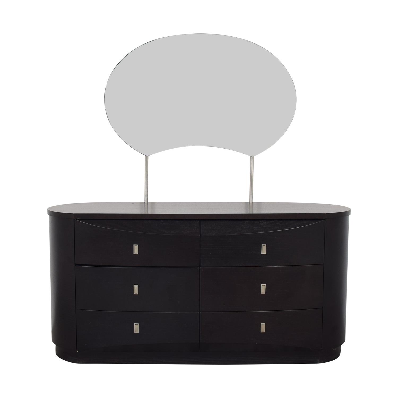Art Deco Dresser with Mirror / Dressers
