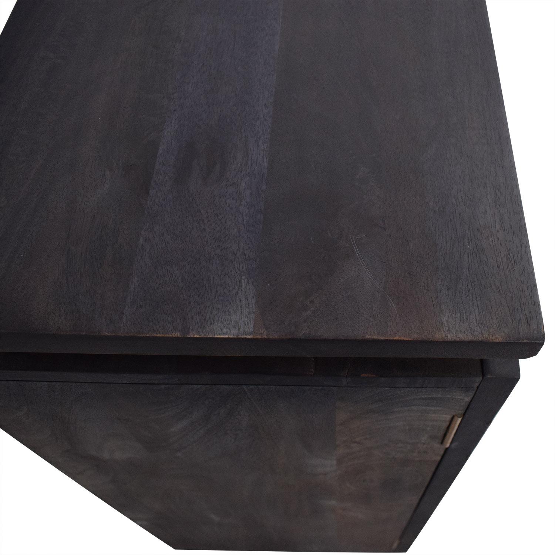 CB2 Brass Inlay Cabinet / Storage