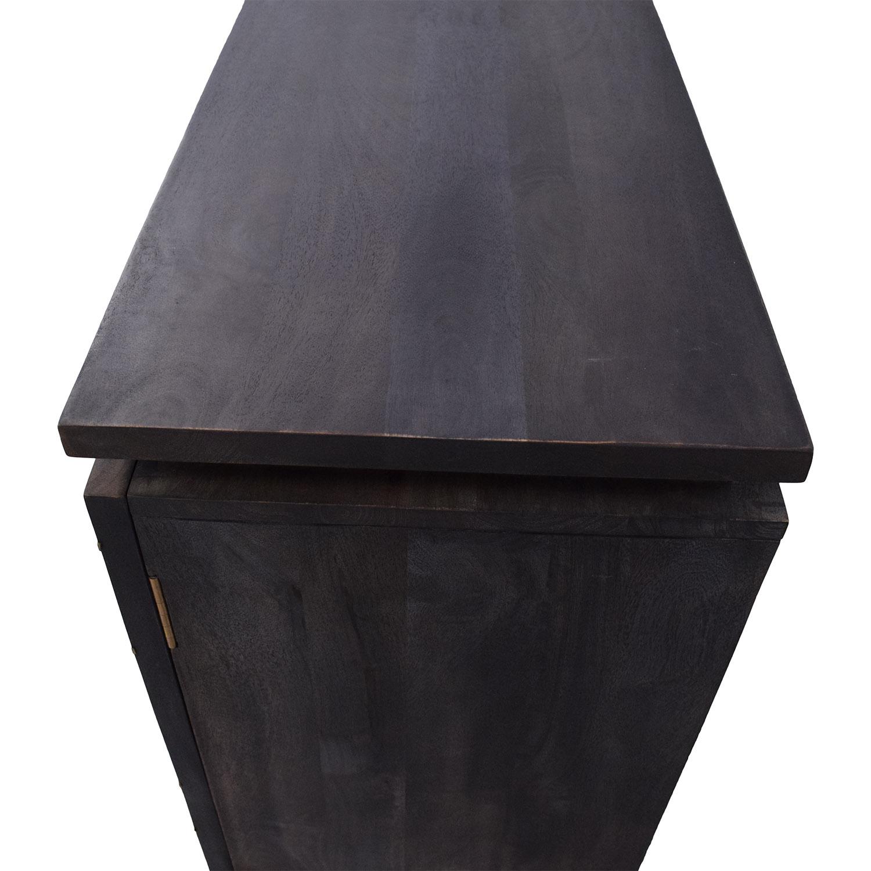 CB2 CB2 Brass Inlay Cabinet ma