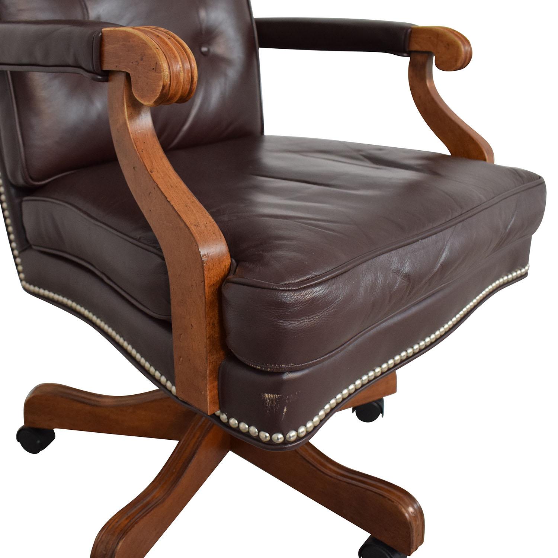 Ethan Allen Ethan Allen Office Chair brown