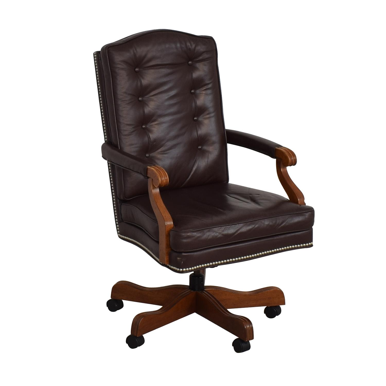 buy Ethan Allen Office Chair Ethan Allen