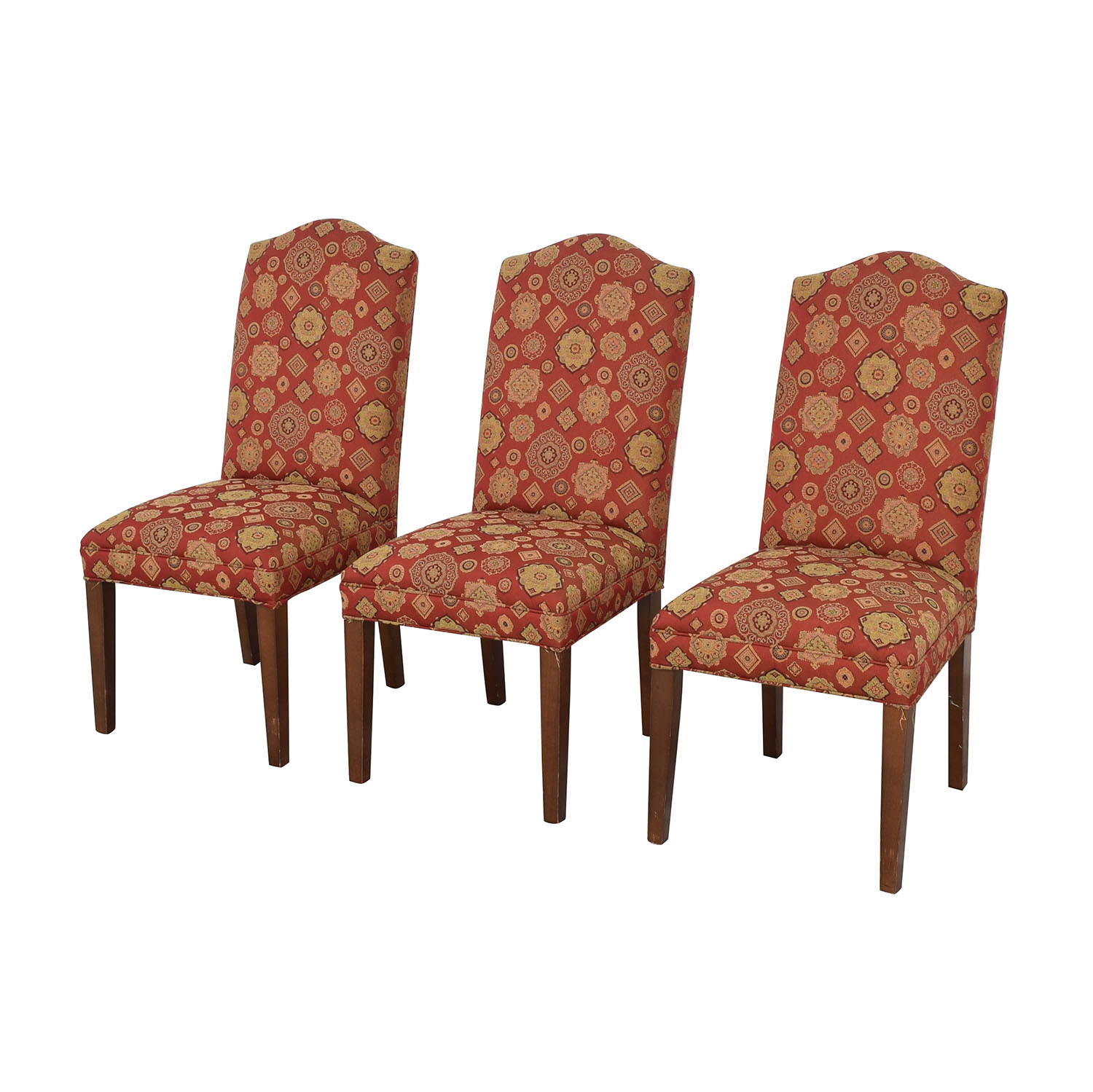 Ethan Allen Ethan Allen Upholstered Dining Chairs ct