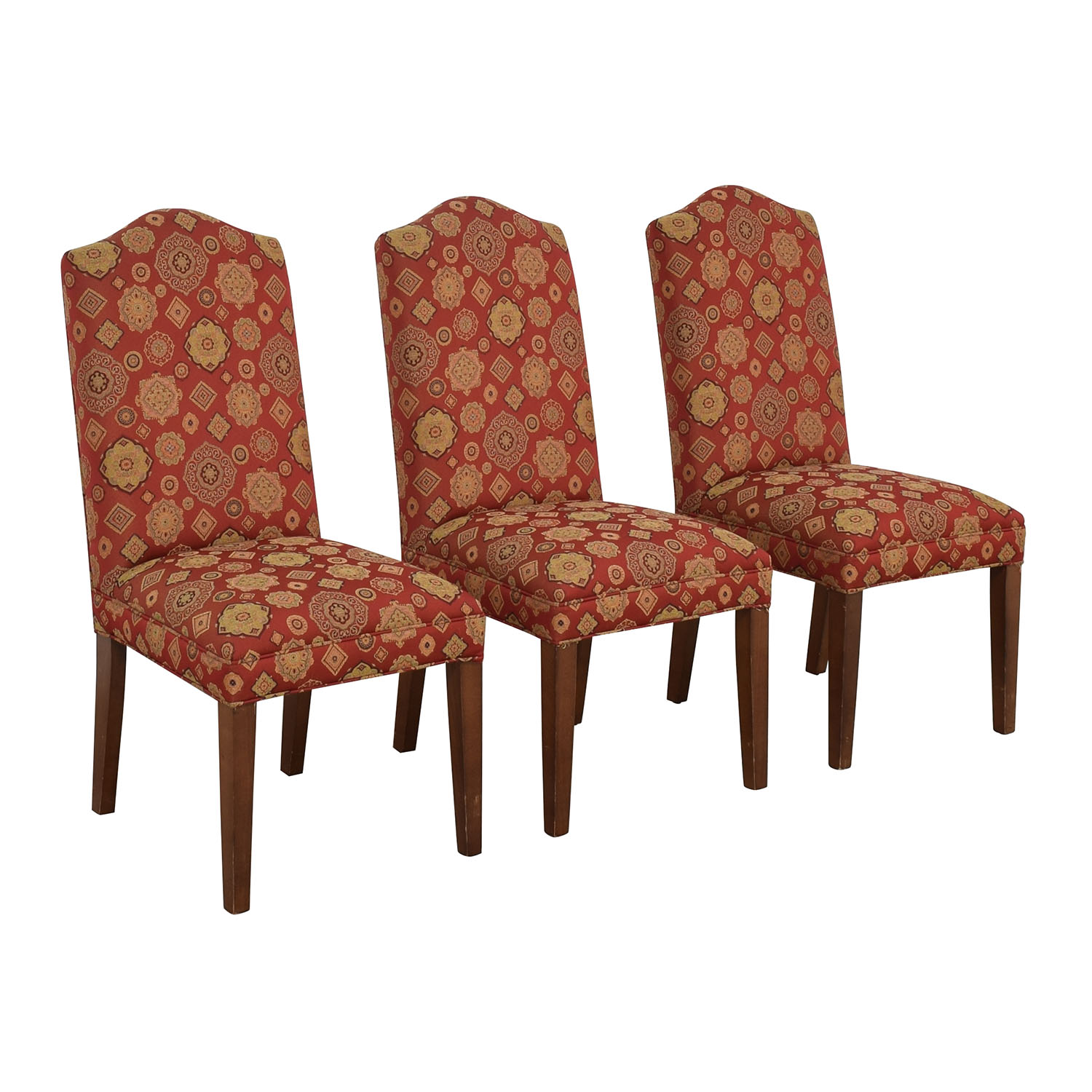 Ethan Allen Ethan Allen Upholstered Dining Chairs coupon